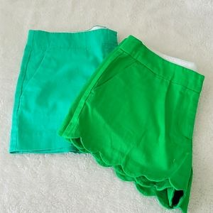 Girls shorts size 14 and one piece size 18